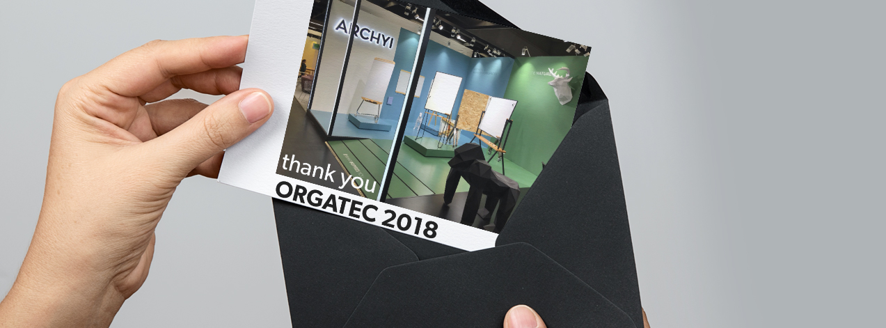 Orgatec 2018: The Increase of Workspace Design Solutions with Writing Surfaces and Office Noise Reduction